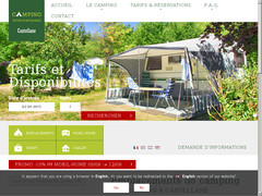 Détails : Camping International de Castellane, Emplacements et locations